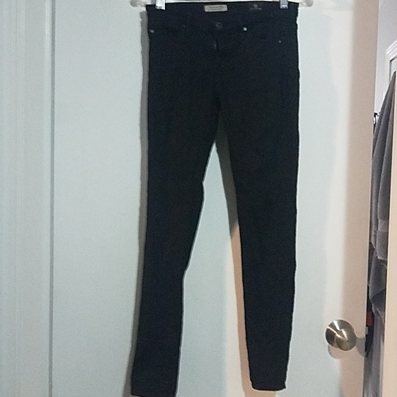 Ag Adriano Goldschmied Denim - Black AG jeans super skinny ankle jeans